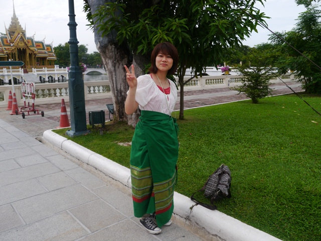 タイへ行く。⑨ ~世界遺産アユタヤ探訪~_f0232060_1346148.jpg