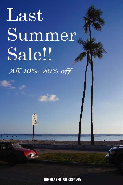 """White Mountaineering, STANDARD CALIFORNIA - New Item...and \""""LAST SUMMER SALE\""""!!_f0020773_2216597.png"""