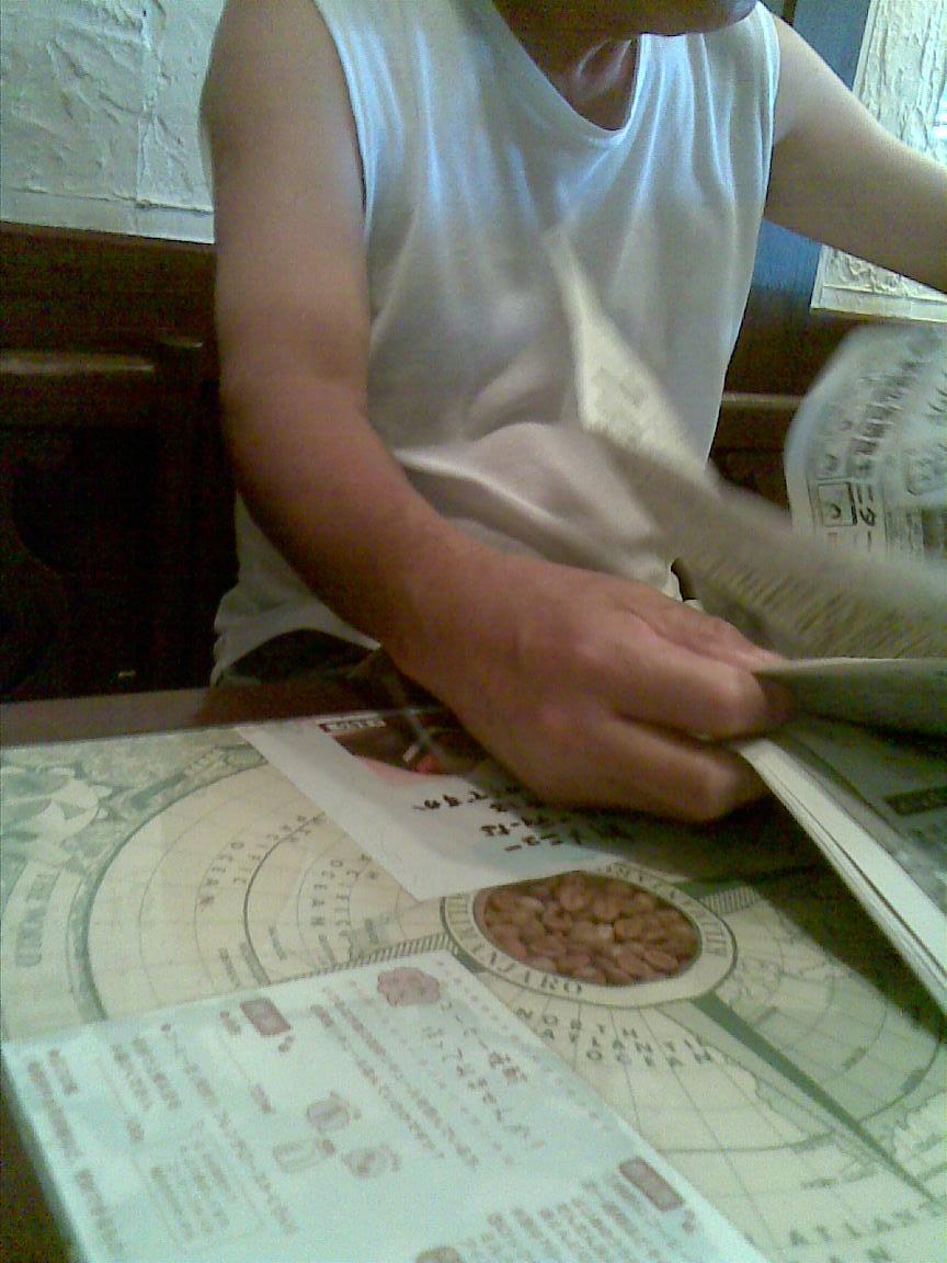 叔父いきつけ朝霞の某喫茶でモーニング&聖愛勝利を見る_d0061678_23522954.jpg