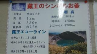 仙台へ ~ 蔵王 お釜_d0191211_112239.jpg