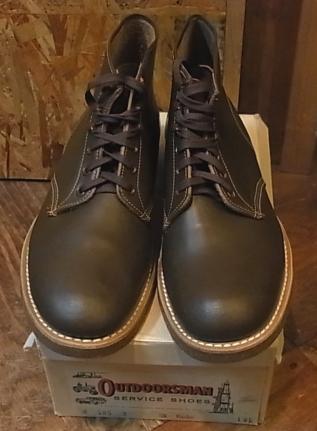 60年代 デッドストック OUTDOORS MAN WORK BOOTS!_c0144020_19415878.jpg