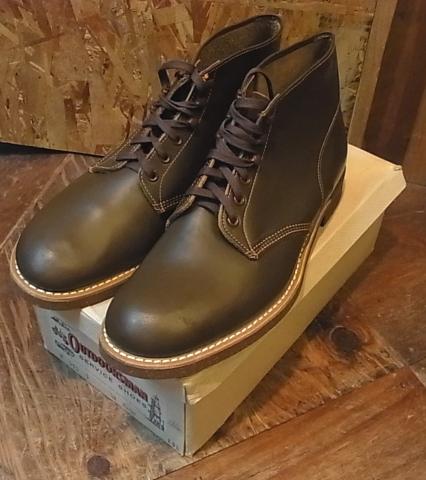 60年代 デッドストック OUTDOORS MAN WORK BOOTS!_c0144020_1942093.jpg