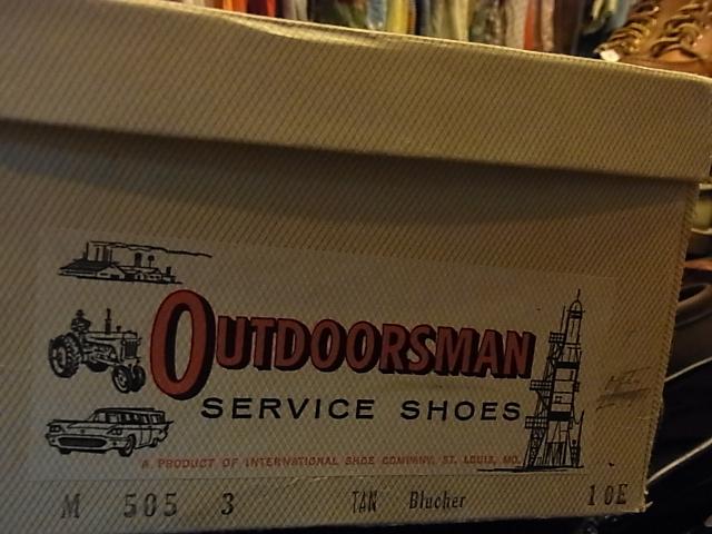 60年代 デッドストック OUTDOORS MAN WORK BOOTS!_c0144020_1942498.jpg