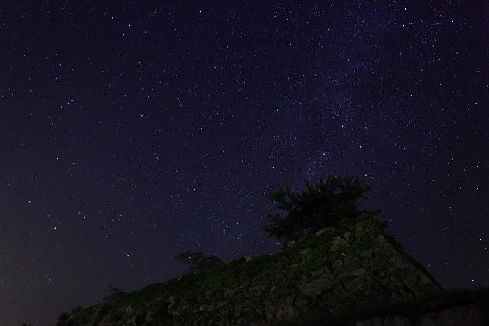 夜霧と天の川_a0294534_1121927.jpg