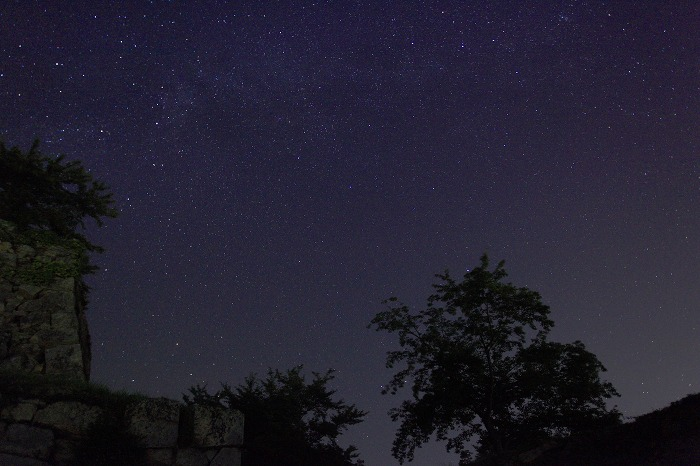 夜霧と天の川_a0294534_1133170.jpg