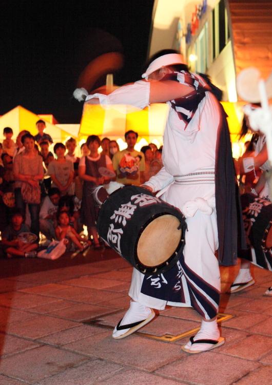 いわき・ら・ら・ミュウ 盆踊り <1>じゃんがら念仏踊り 2013・08・17_e0143883_22212455.jpg