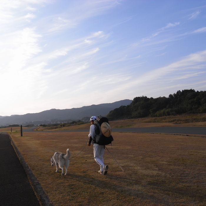 Memory of the second pilgrimage with husky HANA_c0049299_11142484.jpg