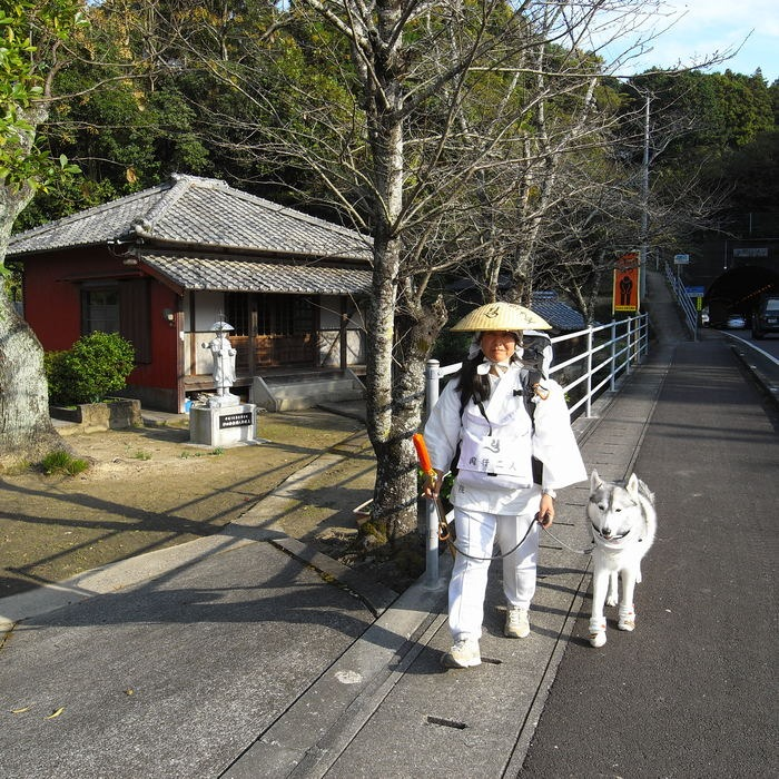Memory of the second pilgrimage with husky HANA_c0049299_1133427.jpg