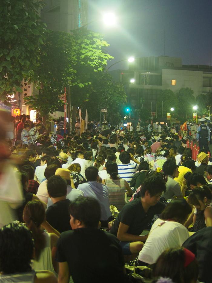 2013 夏 神宮花火大会 (1)_f0062122_10203333.jpg