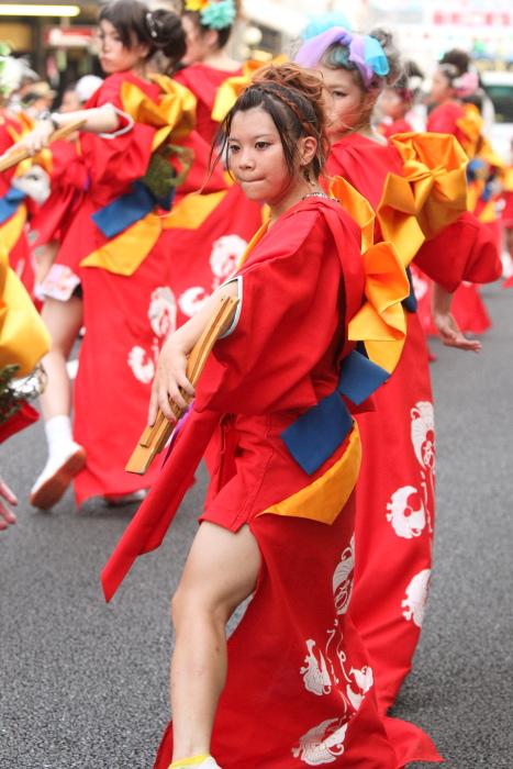 第60回よさこい祭り 本祭1日目 Art Wave×AZJ その4_a0077663_6474100.jpg