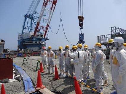 福島第一原発 汚染水問題 視察_f0259324_1371374.jpg