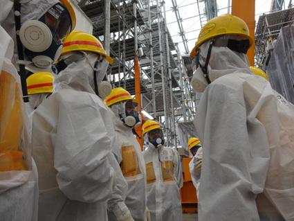福島第一原発 汚染水問題 視察_f0259324_1383523.jpg