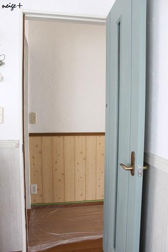 廊下のDIY全セルフリフォーム終了&壁紙貼り方のポイント_f0023333_235127.jpg
