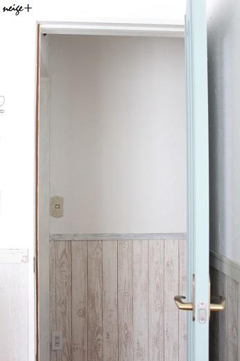 廊下のDIY全セルフリフォーム終了&壁紙貼り方のポイント_f0023333_23531820.jpg