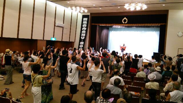 盆踊り交流会_f0081443_1422158.jpg