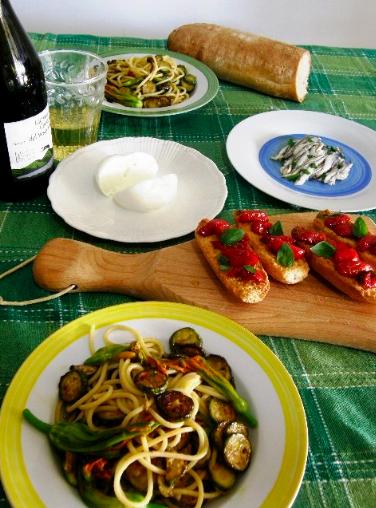 夏野菜のレシピ2種_e0224461_8433688.jpg