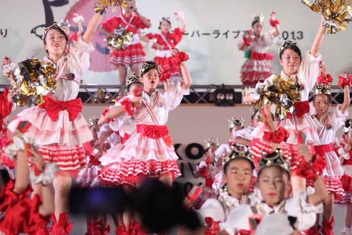 第60回よさこい祭り 後夜祭 サニーグループよさこい踊り子隊SUNNYS その1_a0077663_17553135.jpg