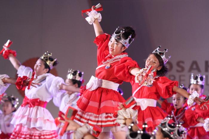 第60回よさこい祭り 後夜祭 サニーグループよさこい踊り子隊SUNNYS その1_a0077663_17554189.jpg