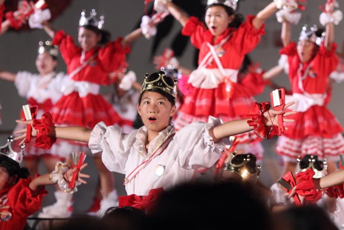 第60回よさこい祭り 後夜祭 サニーグループよさこい踊り子隊SUNNYS その2_a0077663_1844174.jpg