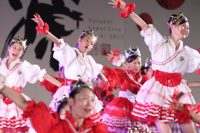 第60回よさこい祭り 後夜祭 サニーグループよさこい踊り子隊SUNNYS その3_a0077663_1881547.jpg