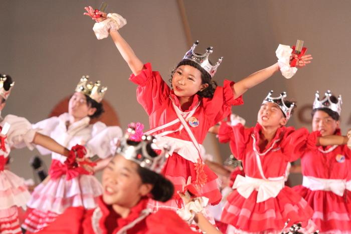 第60回よさこい祭り 後夜祭 サニーグループよさこい踊り子隊SUNNYS その3_a0077663_1881788.jpg