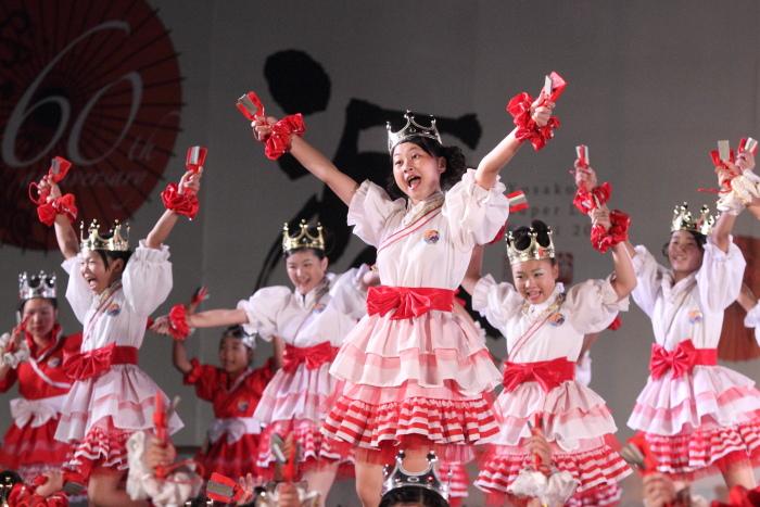第60回よさこい祭り 後夜祭 サニーグループよさこい踊り子隊SUNNYS その3_a0077663_1881942.jpg