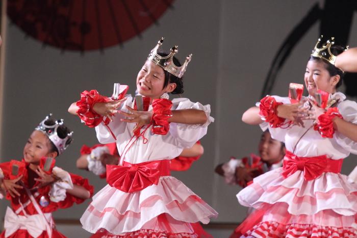 第60回よさこい祭り 後夜祭 サニーグループよさこい踊り子隊SUNNYS その3_a0077663_1882184.jpg