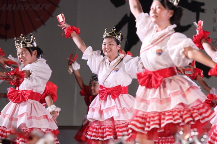 第60回よさこい祭り 後夜祭 サニーグループよさこい踊り子隊SUNNYS その3_a0077663_188236.jpg