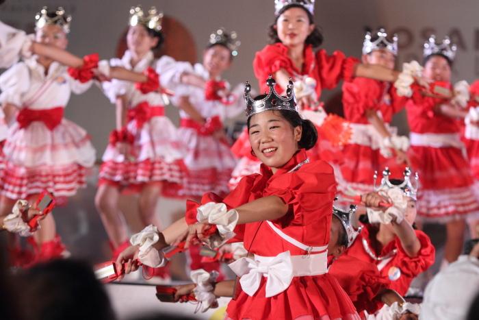 第60回よさこい祭り 後夜祭 サニーグループよさこい踊り子隊SUNNYS その3_a0077663_1882624.jpg
