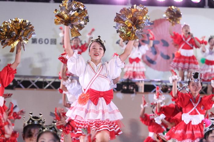 第60回よさこい祭り 後夜祭 サニーグループよさこい踊り子隊SUNNYS その3_a0077663_188289.jpg
