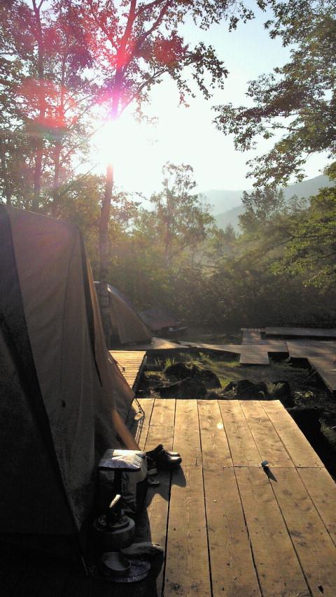 乗鞍キャンプ二日目☆キャンプを楽しむ絵本_e0160269_18544357.jpg
