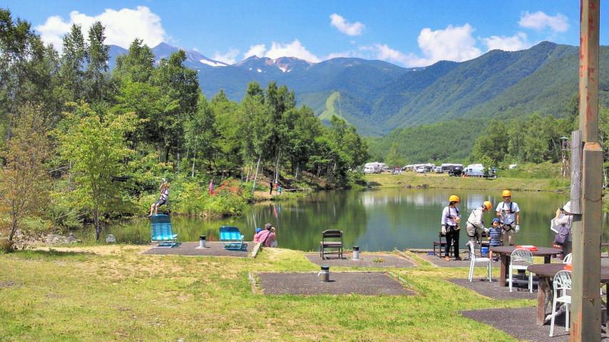 乗鞍キャンプ二日目☆キャンプを楽しむ絵本_e0160269_19291127.jpg