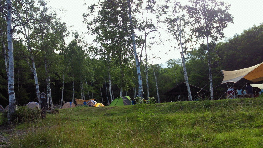 乗鞍キャンプ二日目☆キャンプを楽しむ絵本_e0160269_1934887.jpg