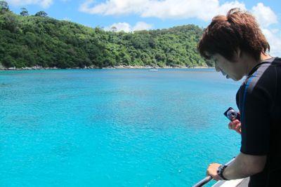 青い海!!ラチャノイ島!!_f0144385_2023240.jpg