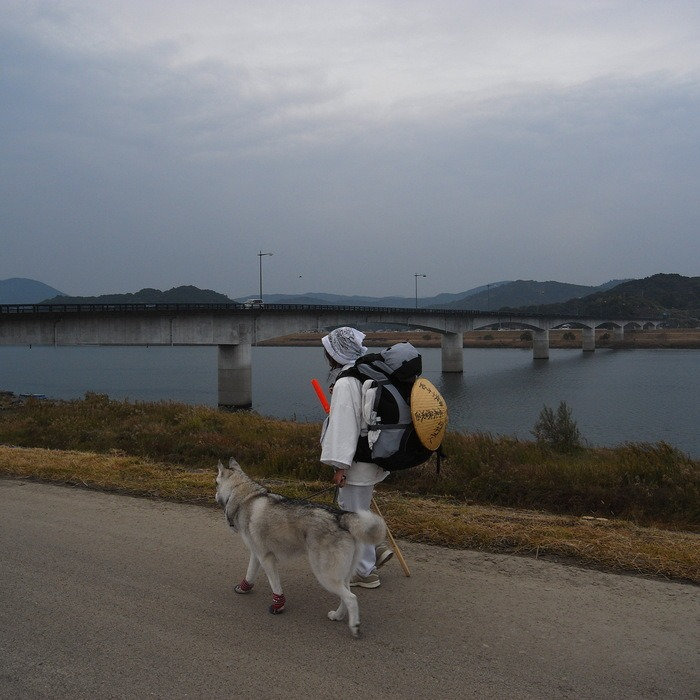 Memory of the second pilgrimage with husky HANA_c0049299_941134.jpg
