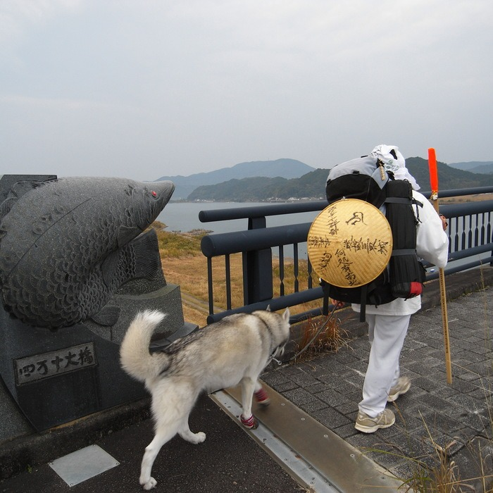 Memory of the second pilgrimage with husky HANA_c0049299_9414017.jpg