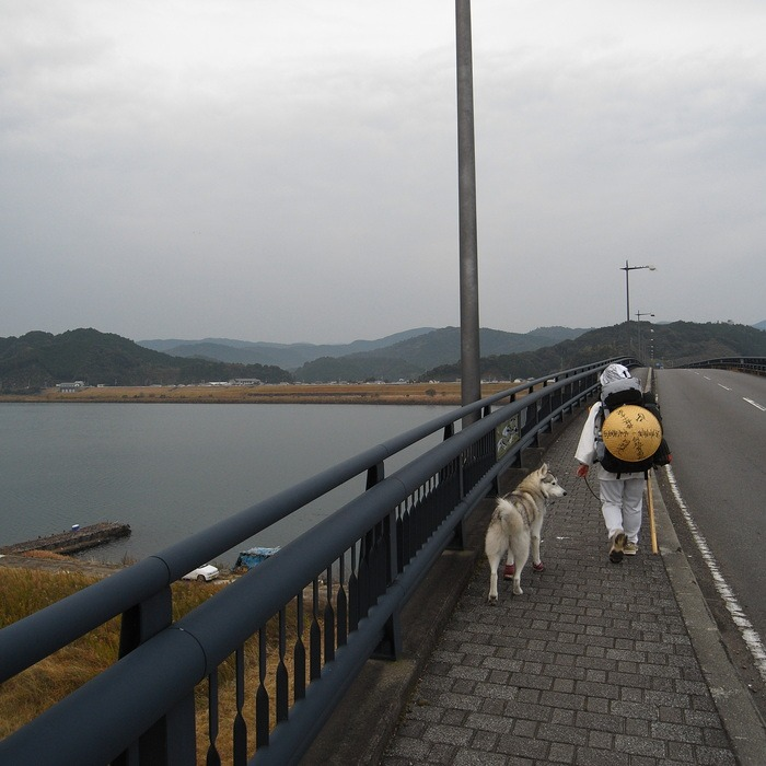 Memory of the second pilgrimage with husky HANA_c0049299_9414447.jpg