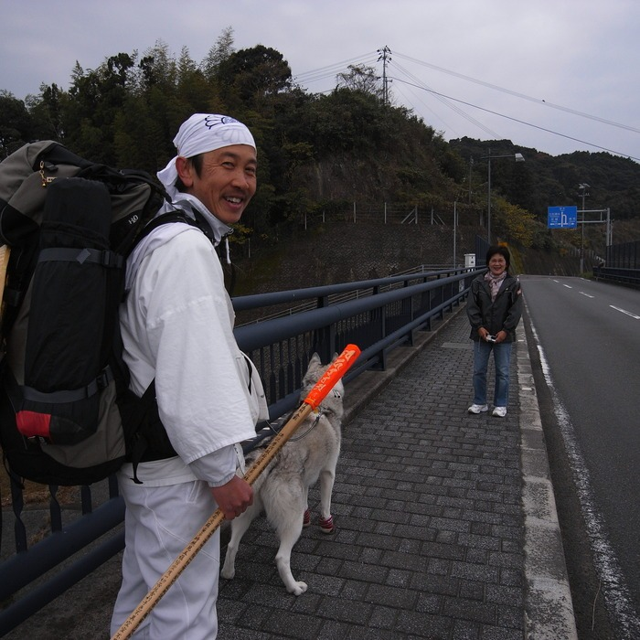 Memory of the second pilgrimage with husky HANA_c0049299_9433420.jpg