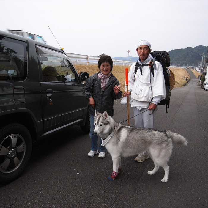 Memory of the second pilgrimage with husky HANA_c0049299_9441592.jpg