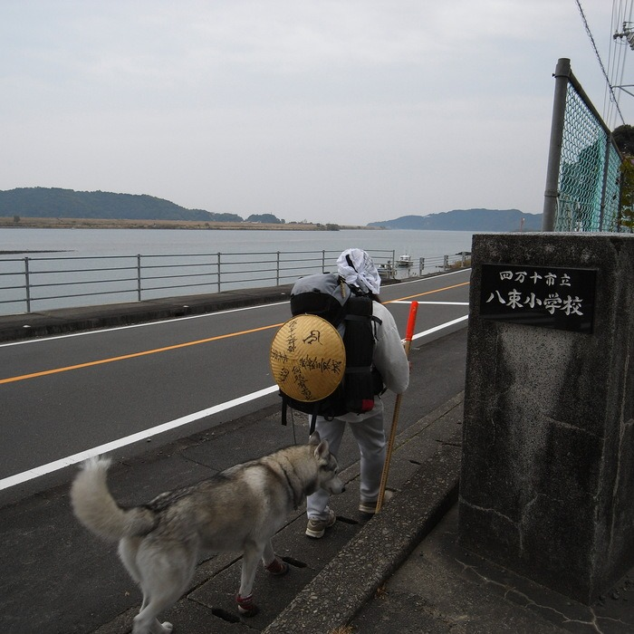 Memory of the second pilgrimage with husky HANA_c0049299_9443014.jpg