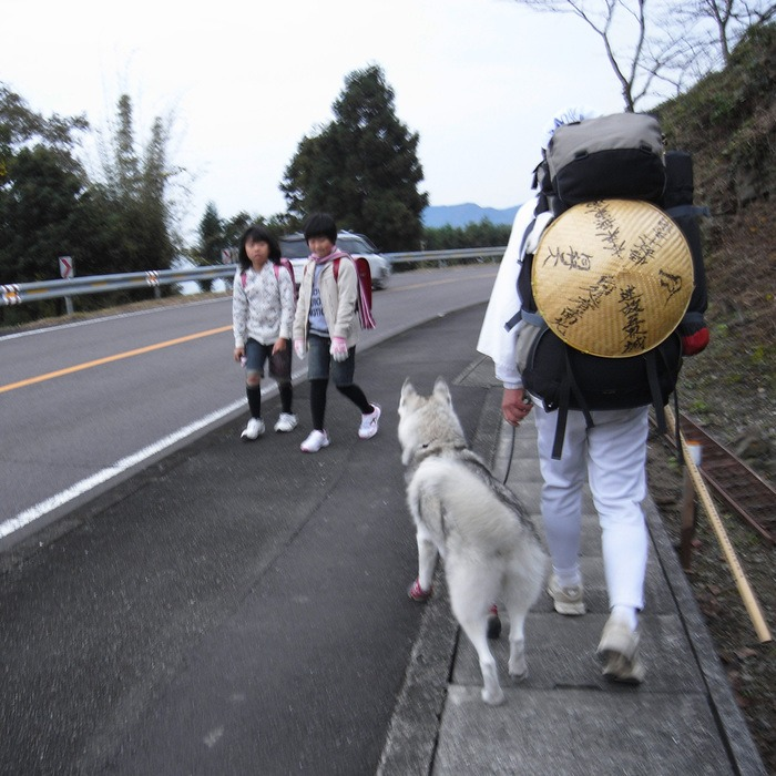Memory of the second pilgrimage with husky HANA_c0049299_9453245.jpg