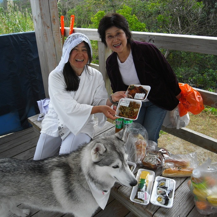 Memory of the second pilgrimage with husky HANA_c0049299_9572820.jpg