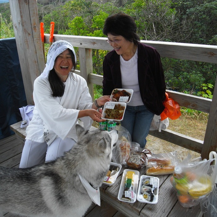 Memory of the second pilgrimage with husky HANA_c0049299_957582.jpg