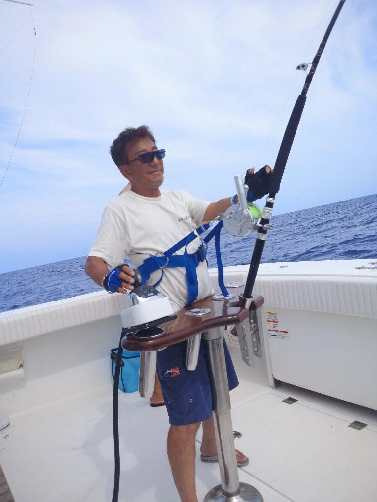 Congratulation on the 100 Marlin !! to Boboss 【カジキ・マグロ トローリング】_f0009039_9205156.jpg