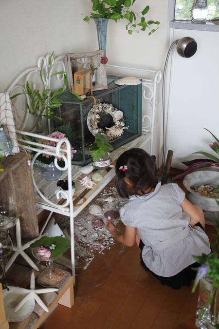 yukiさんのキッズレッスン&グラス活けレッスン_d0075863_22402152.jpg