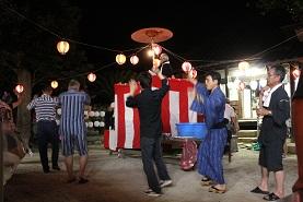 地域の盆踊り ~中切~ _e0175370_13324283.jpg