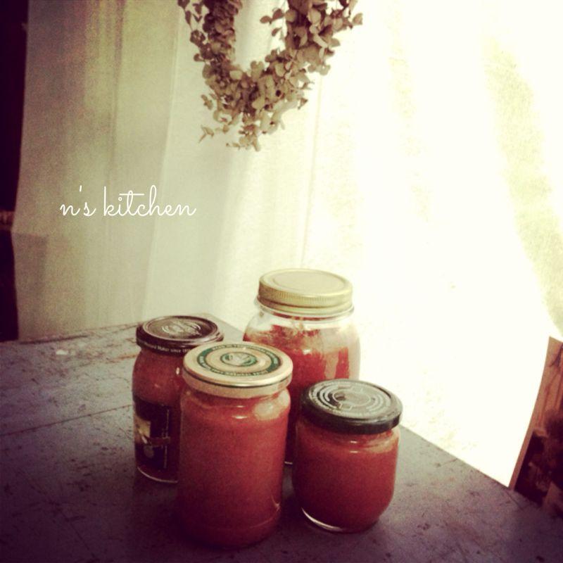 夏野菜とチキンのオーブン焼きなど。_a0105872_1593036.jpg