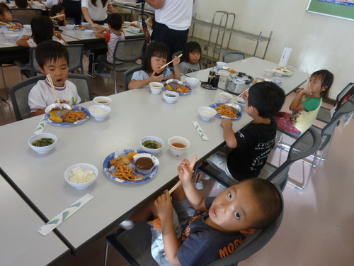 鳳幼稚園 第一回サマーキャンプ_b0277979_214418100.jpg