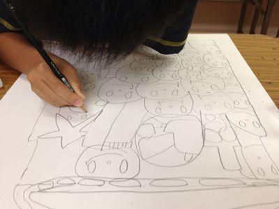 城陽教室〜水彩画 〜_f0215199_23212654.jpg