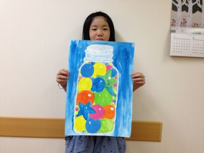 城陽教室〜水彩画 〜_f0215199_23213080.jpg